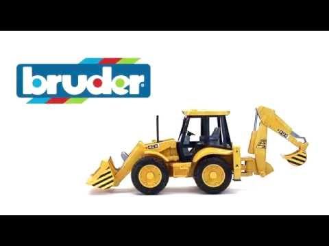Экскаватор – погрузчик колёсный JCB 4CX 02-428 Bruder (Брудер)
