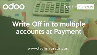 Write Off in to multiple accounts at Payment - Odoo