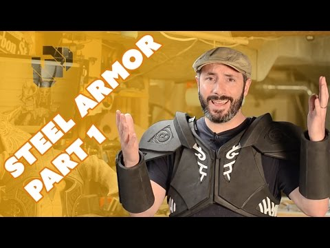 How to Make the Skyrim Steel Armor Costume Part 1: Foam Fabrication