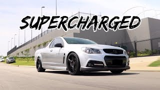 Supercharged Holden SS-V Redline ute Review! 586HP*
