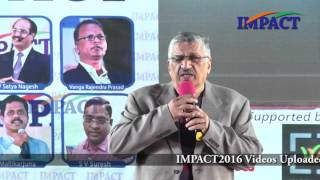 How to convert your weaks into strengths by Amarnath Rao at IMPACT Hyderabad 2016