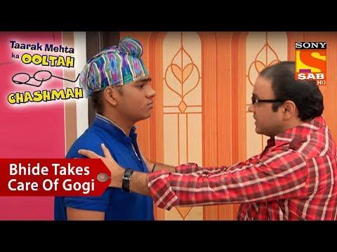 Bhide Takes Good Care Of Gogi | Taarak Mehta Ka Ooltah Chashmah