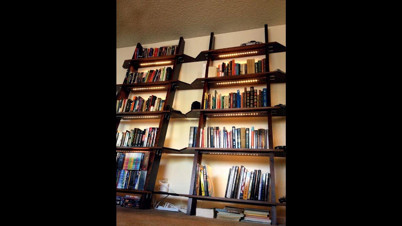 Книжные полки и стеллажи фото своими руками