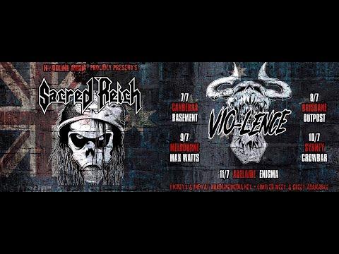 Phil Demmel from Vio-lence / ex-Machine Head talks Australian tour with Sacred Reich