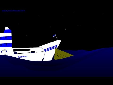 Reconstruction of the M/V Estonia disaster, part 2.