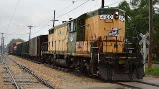 """Illinois Railway Museum: """"CNW Day"""" with Vintage CNW Action! - 5/20/17CNW Day 1"""