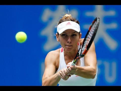 2016 Wuhan Open Quarterfinal | Simona Halep vs Madison Keys | WTA Highlights