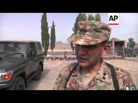 Pakistan military takes media on tour of area that  was once under control of insurgents
