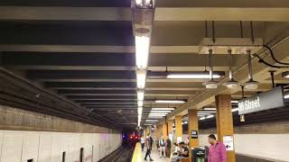 MTA NYC Subway: (D) (N) (R) (W) trains at 36 St (BMT 4th Ave Line)