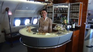emirates a380 first class showers and suites