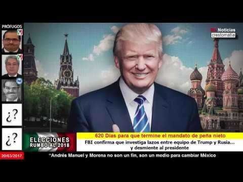 FBI confirma que investiga a Trump y Rusia… y desmiente al presidente