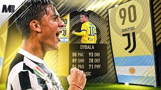 FIFA 18 SIF DYBALA REVIEW | 90 SIF DYBALA PLAYER REVIEW | FIFA 18 ULTIMATE TEAM