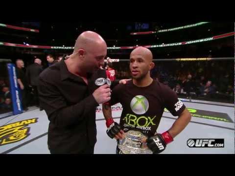 UFC on FOX 6: Demetrious Johnson Octagon Interview