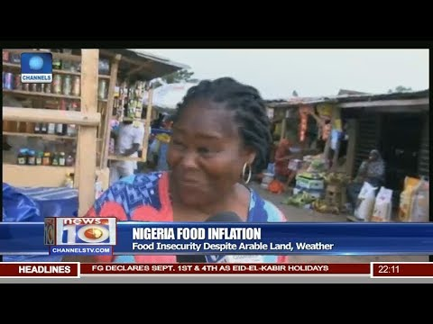 Nigeria's Food Inflation Hits 8-year High Pt 1 | News@10 |