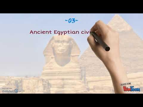 top  5 most famous ancient civilization