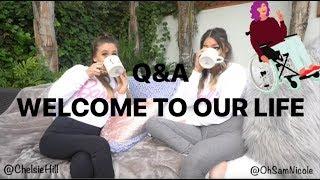 Q&A LIFE AS A WHEELCHAIR USER | Chelsie & Sam