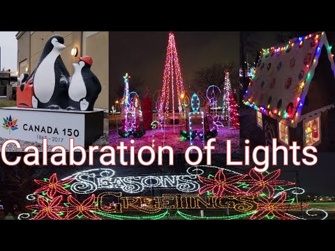 Exploring Sarnia Ontario Canada Christmas Celebration Of Lights