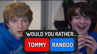 Tommy & Tubbo play Extreme Would You Rather...