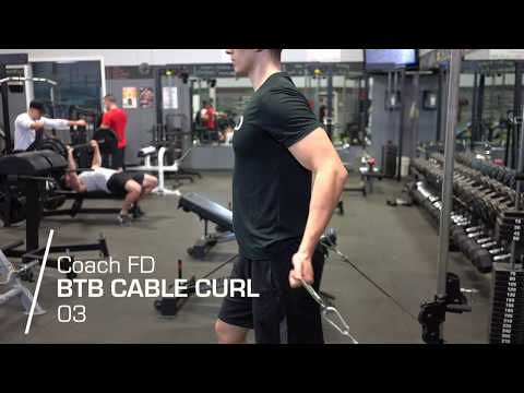 Biceps Cable Curl - FD Fitness