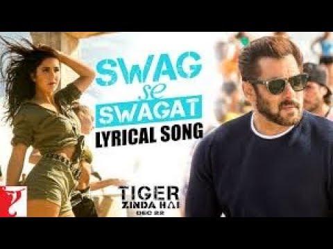 Swag Se Sawagat    Vishal Dadlani & Neha bashing -Tiger Zinda Hai    lyrics video with translation  