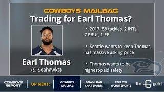 Cowboys Mailbag On Bo Scarbrough Making Roster, Dak Prescott's Stats & Earl Thomas Trade