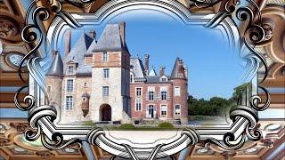 Le château de la Bussière - Loiret.