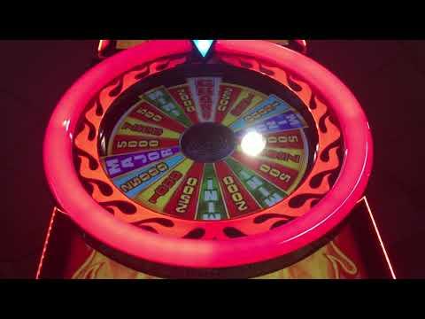 First look super fun aruze burning wheel afterburner slot machine bonuses ❤️❤️