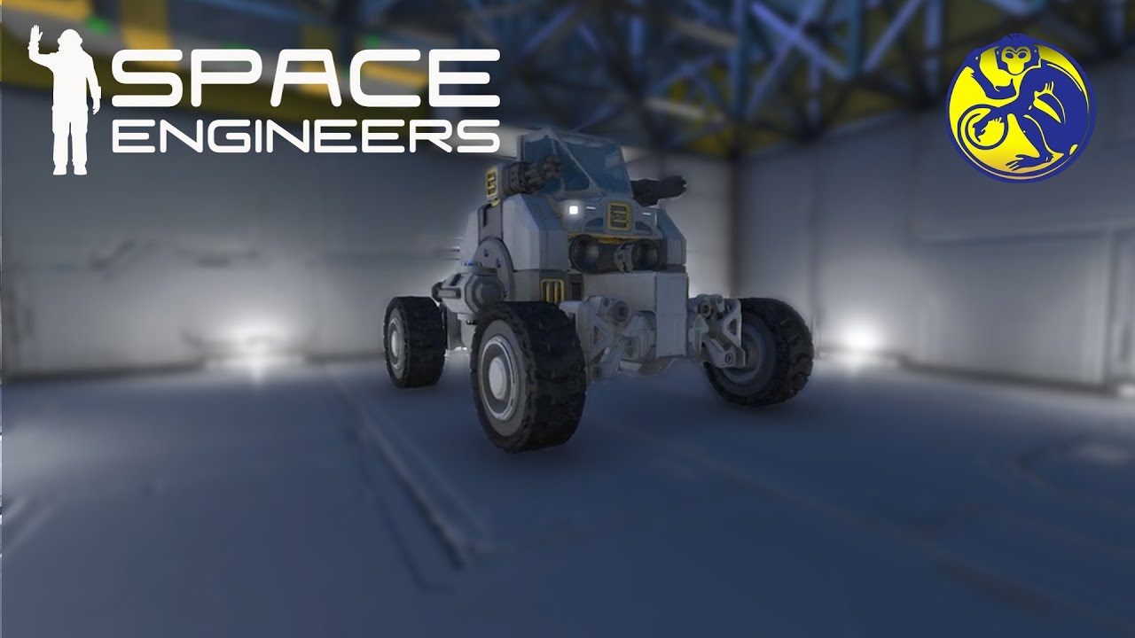 Space Engineers Building Rover
