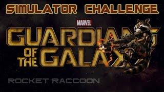 Marvel Avengers Alliance: Guardian Rocket Raccoon Simulator Challenges