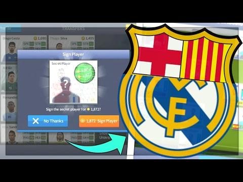 EL CLASICO SQUAD! BARCELONA+REAL MADRID! Dream League Soccer 2017