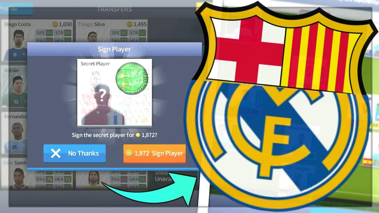 el clasico squad barcelona real madrid dream league soccer 2018