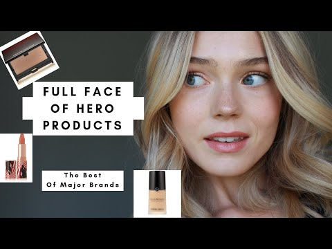 Hero Products Challenge | Full Face Of Brand's Best | 2019