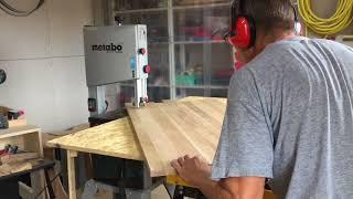 Овальный стол из массива дуба