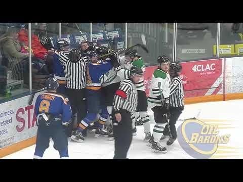 Fort McMurray Oil Barons vs Dryton Valley Thunder 14/2/18