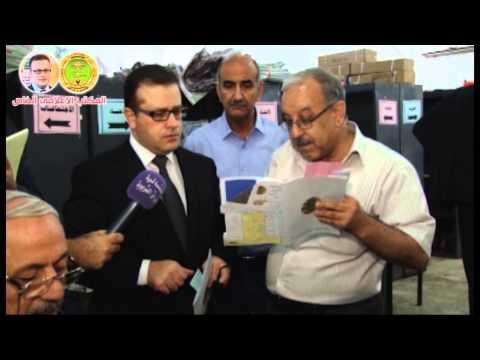 جولة معالي وزير التربية الدكتور محمد اقبال الصيدلي في المراكز الامتحانية