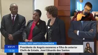 Isabel dos Santos foi Exonerada da Sonangol !