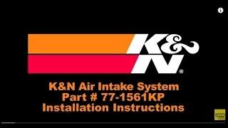 2009 2015 dodge ram performance cold air intake system kit k high flow intake 77 1561kp