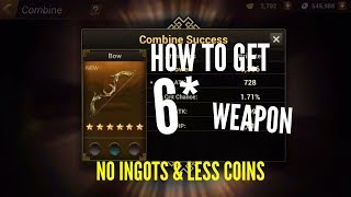 Tips How to Get 6* Fast Without spending Ingots and Less  Coins | Dynasty Warriors: Unleashed