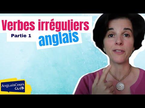 Verbes Irreguliers Anglais Premiere Partie Youtube