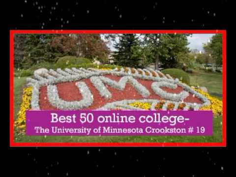 Best 50 online college in usa   The University of  Minnesota Crookston # 19