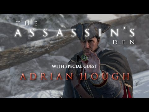 The Assassin's Den  ft. Adrian Hough Haytham Kenway in Assassin's Creed 3