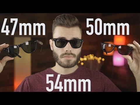 Ray-Ban Wayfarer Size Comparison 47mm Vs 50mm Vs 54mm