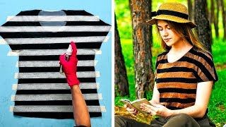25 CREATIVE DIY IDEAS FOR YOUR BORING CLOTHES