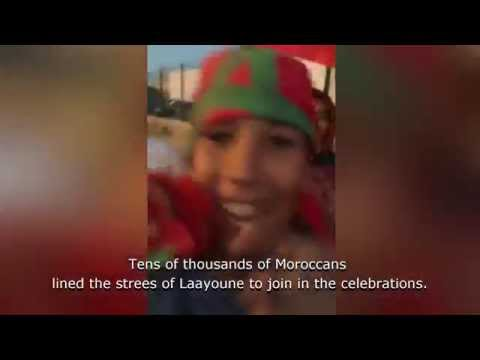 Green March Celebrations in Laayoune