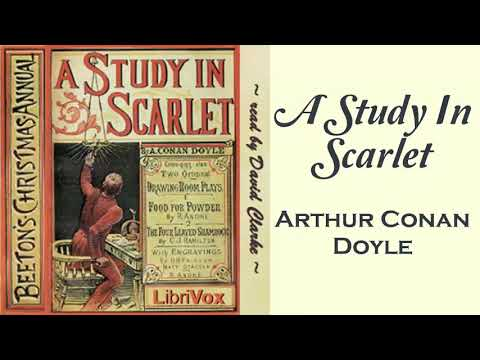 A Study In Scarle Audiobook by Arthur Conan Doyle | Audiobooks Youtube Free | Sherlock Holmes Audio