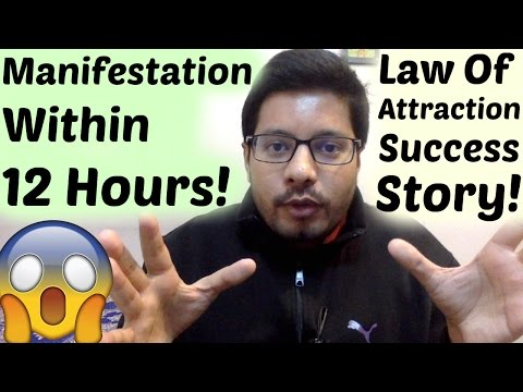 Law of Attraction Success Story - Quick and Stunning! - MindBodySpirit by Suyash