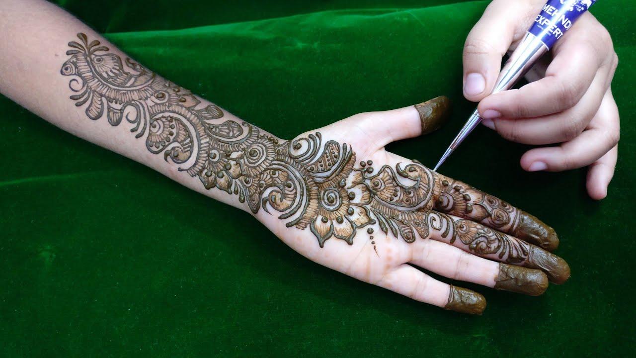 Mehndi Symbols Patterns And Meanings : Best marwari mehndi designs for hands foot