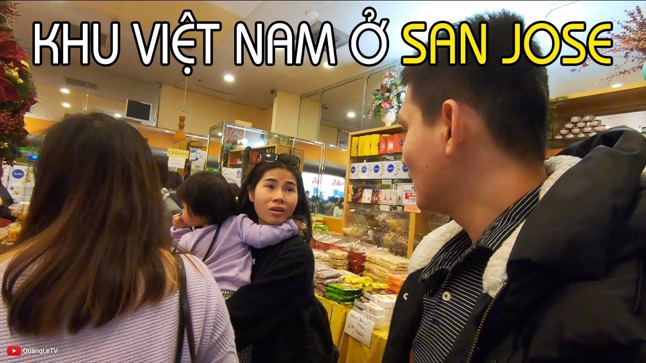 KHU THƯƠNG MẠI NGƯỜI VIỆT Ở SAN JOSE | Ăn Buffet Sushi và Oyster | Cuộc sống Mỹ ở California