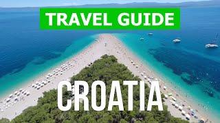Croatia beaches | Brela, Brac, Dubrovnik, Makarska, Hvar, Split, Krk, Omis, Trogir, Rovinj | 4k