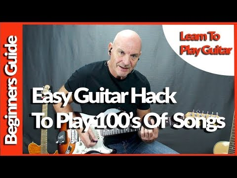 Easy Guitar Hack to Play 100's of Songs For The Beginner